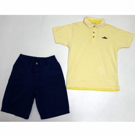 Conjunto 2 peças Masculino Infantil Coloritta 17932