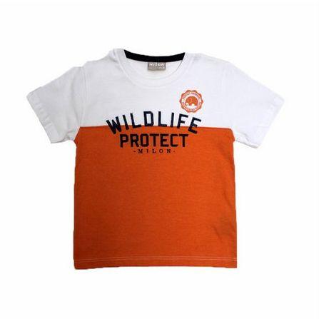 Camiseta Manga Curta Estampada Gola Redonda Milon 9230