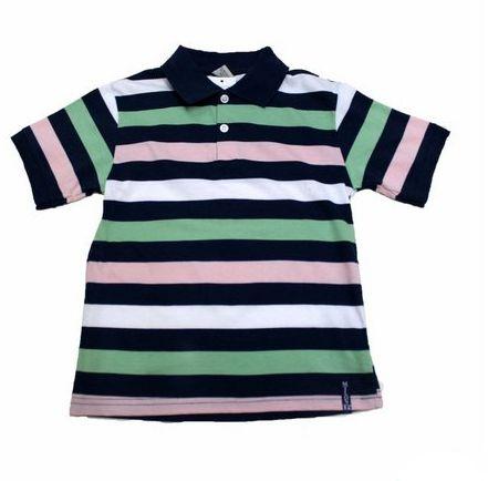 Camisa Pólo Manga Curta Listrada Milon 3701