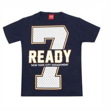 Camiseta Estampada Manga Curta Kyly 109750