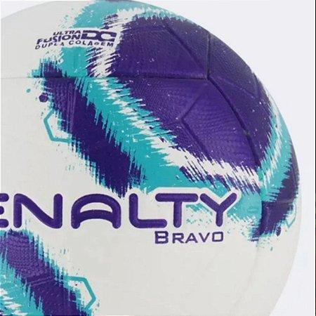 Bola Futebol Campo Penalty Bravo XXI Branco