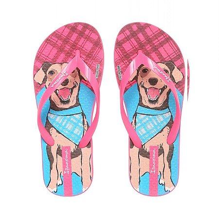 Chinelo Ipanema Pets Pink