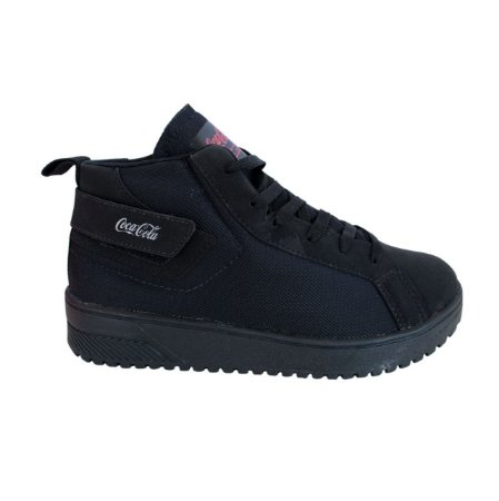 Tênis Coca-Cola Shoes Lander All Black CC1815