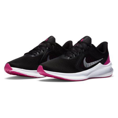 Tênis Nike Downshifter 10 Feminino - Preto e Pink
