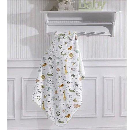 Toalha de Banho com Capuz Baby Santista - 90cm x 70cm
