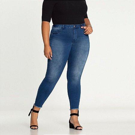 Calça Jeans Skinny Média Elastano Fit For Me Lunender