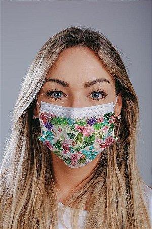 Máscara cirúrgica tripla c/ elástico cx c/ 30 und - Estampa 7