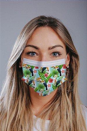 Máscara cirúrgica tripla c/ elástico cx c/ 30 und - Estampa 16