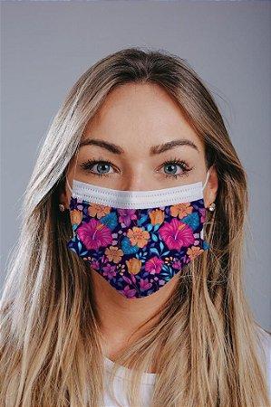 Máscara cirúrgica tripla c/ elástico cx c/ 30 und - Estampa 17