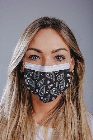 Máscara cirúrgica tripla c/ elástico cx c/ 30 und - Estampa 22