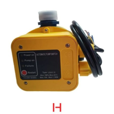 "Pressostato Eletrônico HP-10 HIODA 0,8 Bar - Bivolt 1"""