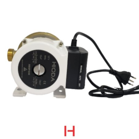 Bomba e Circuladora de água HBP 248W BRONZE 110V e 220V