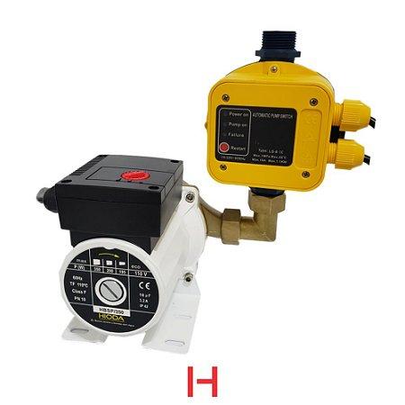 Pressurizador HBSP (Bronze) 350W 1/2 CV com Pressostato Eletrônico Hioda