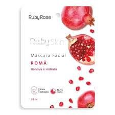 MÁSCARA FACIAL RUBY SKIN ROMÃ RUBY ROSE