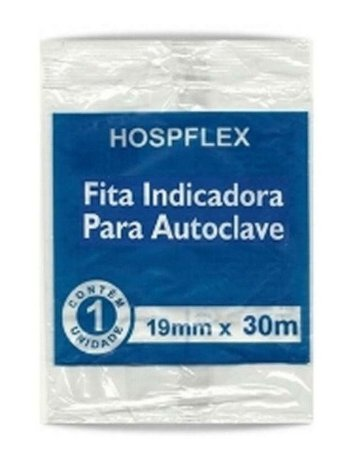 FITA INDICADORA PARA AUTOCLAVE HOSPFLEX