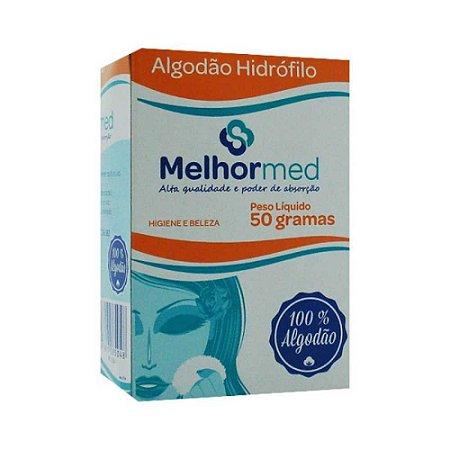 ALGODÃO HIDRÓFILO 50G MELHORMED