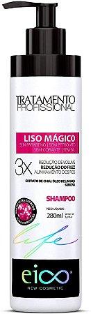 SHAMPOO LISO MÁGICO TRATAMENTO EICO COSMÉTICOS