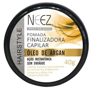 POMADA FINALIZADORA CAPILAR ÓLEO DE ARGAN 40G NEEZ