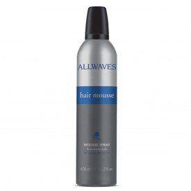 HAIR MOUSSE SPRAY 400ML ALLWAVES