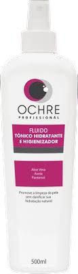 FLUIDO TÔNICO HIDRATANTE E HIGIENIZADOR 500ML OCHRE