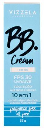 BB CREAM FPS 30 COR 00 VIZZELA