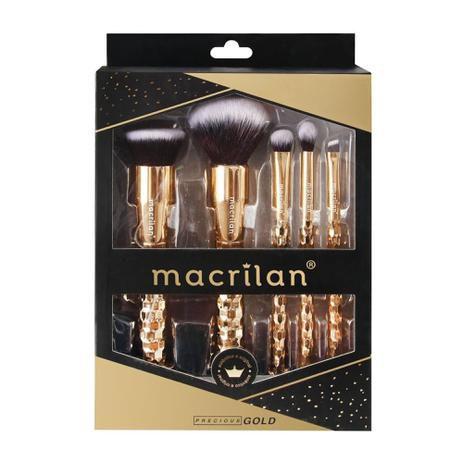 KIT DE PINCÉIS PRECIOUS GOLD MACRILAN