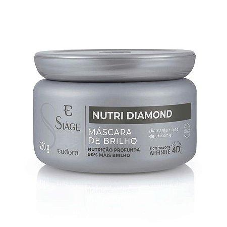 MÁSCARA DE BRILHO NUTRI DIAMOND EUDORA