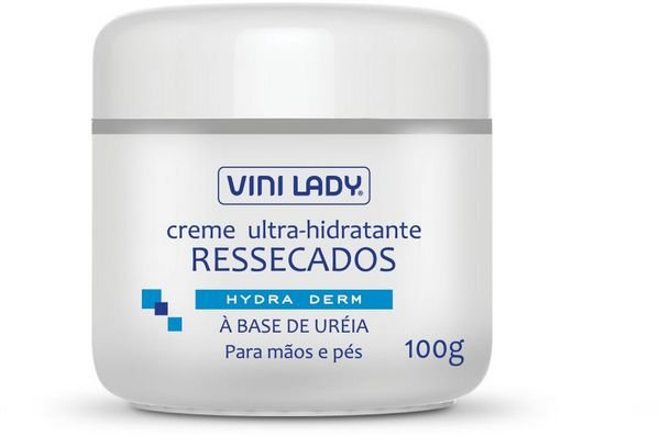 CREME ULTRA-HIDRATANTE RESSECADOS 100G VINI LADY
