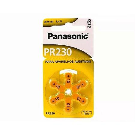 Pilha para aparelho auditivo 10 - PANASONIC