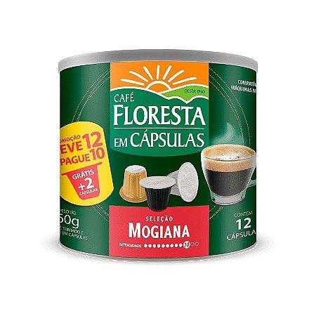 Cápsulas Café Floresta Origens Mogiana 12 un (compatível com máquinas Nespresso)