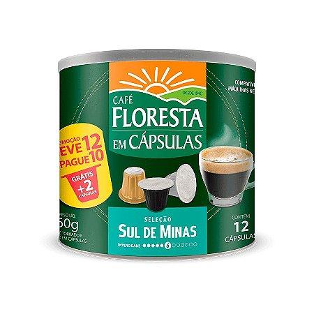 Cápsulas Café Floresta Origens Sul de Minas  12 un (compatível com máquinas Nespresso)
