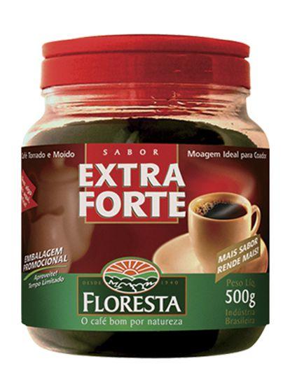 Café Floresta Extra Forte Pote 500g