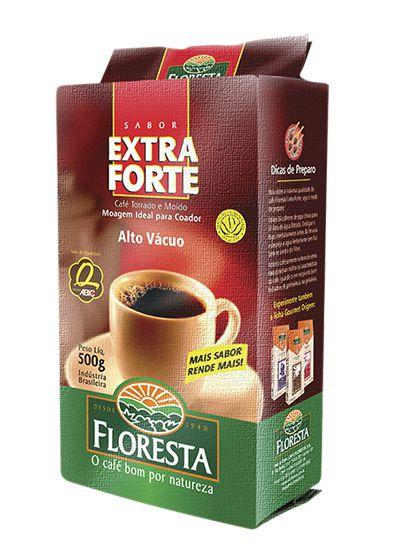 Café Floresta Extra Forte Alto Vacuo 500g