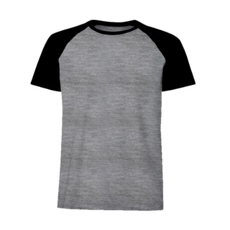 Camisa Raglan Preta