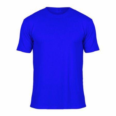 Camisa Azul Royal c/ Bordado no Peito