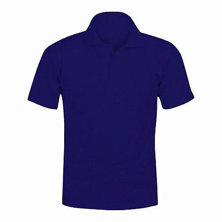 Camisa Polo Azul Marinho c/ Bordado no Peito