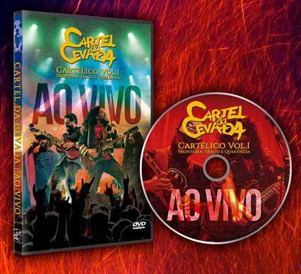 DVD Ao Vivo - Cartel da Cevada