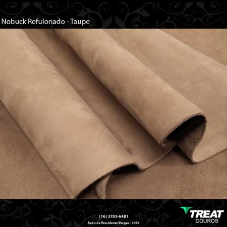 Nobuck Refuloando Taupe
