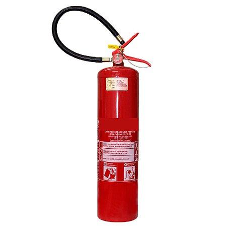 Extintor de Incêndio Pó Químico