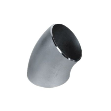 Conexão Tubular Curva 45° Aço Inox Schedule 5 10 40 80 ASTM A430