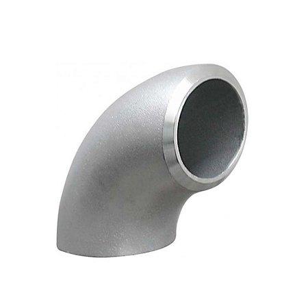 Conexão Tubular Curva 90° Aço Inox Schedule 5 10 40 80 ASTM A430