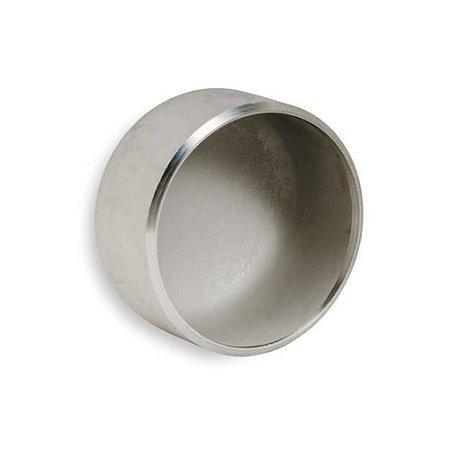 Conexão Tubular Caps Aço Inox Schedule 5 10 40 80 ASTM A430