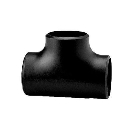 Conexão Tubular TEE Aço Carbono Schedule 40 80 160 ASTM A234