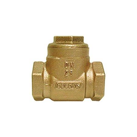 """Válvula de Retenção Horizontal Portinhola Bronze de 1/2"""" à 4"""""""