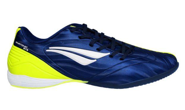 Chuteira Penalty Futsal Digital Pro 124209-6450 AZ-AM-BC