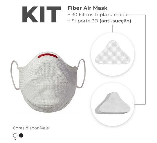 Kit Mascara Fiber Knit Air Z992-0997 Branco