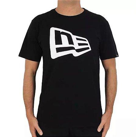 Camiseta New Era Basico Essentials Flag Nei20tsh045