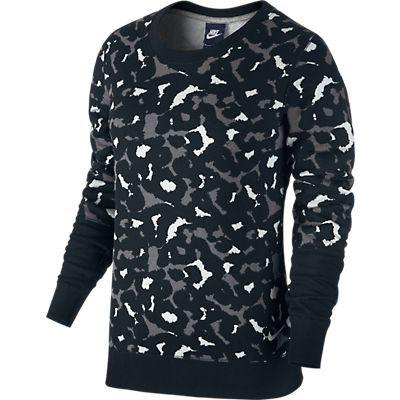 Blusa Nike Club Crew-Aop 678886-010 Pto/BC