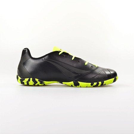 Chuteira Penalty Futsal Victoria RX VI Black Volt 124102-9700