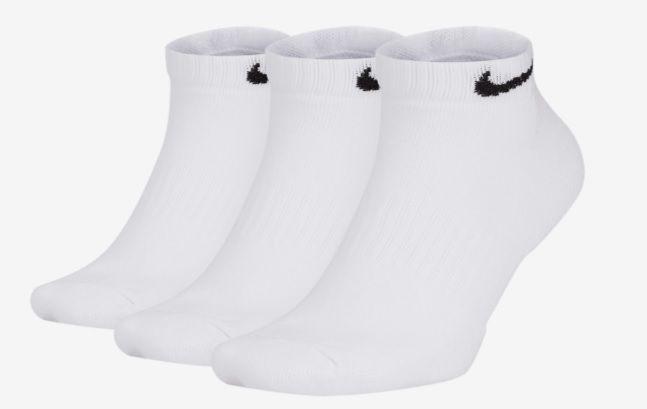Meia Nike Kit 3 Pares Everyday Cush Low Sx7670-100